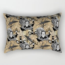 Edgar Allan Poe Rectangular Pillow