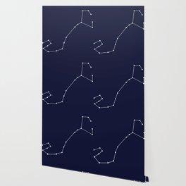 Scorpio Astrology Star Sign Blue Minimal Wallpaper
