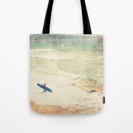 Margin Walker. surfer photograph Hermosa Beach Tote Bag