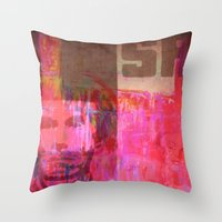 usa Throw Pillows featuring USA by Fernando Vieira
