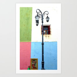 Caminito Art Print