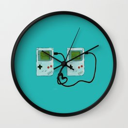 Play together, stay together Wall Clock