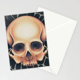 Iridescent Skull Stationery Cards