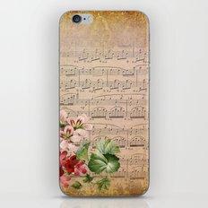 Vintage Music #3 iPhone & iPod Skin