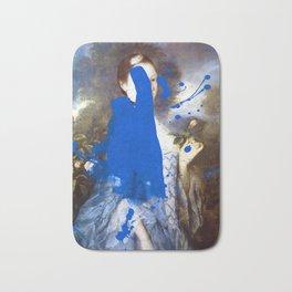 Blue Bomb Bath Mat