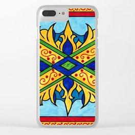 Xavier Clear iPhone Case