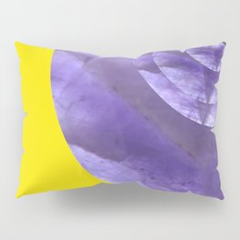Yellow Mystical Powers of Amethyst #society6 Pillow Sham