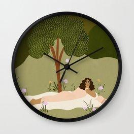 Hoping Wall Clock