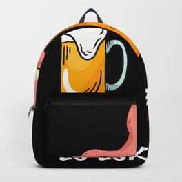 Bachelorette Party Pink Flamingo Beer Backpack