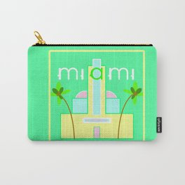 Miami Deco Carry-All Pouch