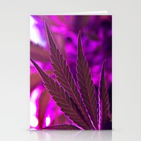 cannabis Stationery Cards featuring Cannabis  by End Of Prohibition