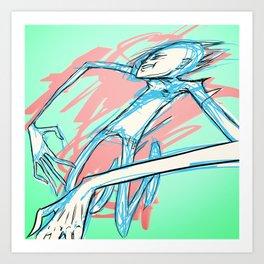 STRIKE Art Print