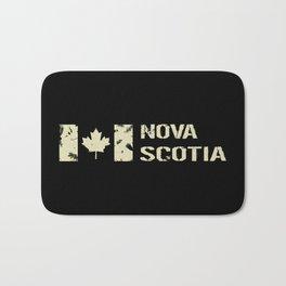 Canadian Flag: Nova Scotia Bath Mat