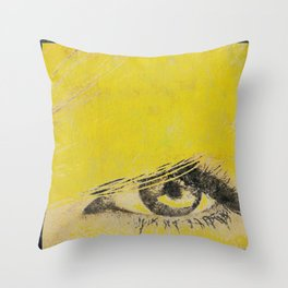 Rare View   Pop-Art Glamour EYE Throw Pillow