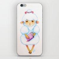 lamb iPhone & iPod Skins featuring lamb by fellanna