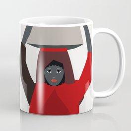 Women return from the market  Coffee Mug
