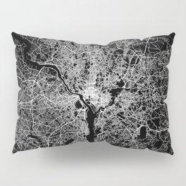 washington map Pillow Sham