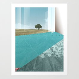 atmosphere 26 · Floodland Art Print