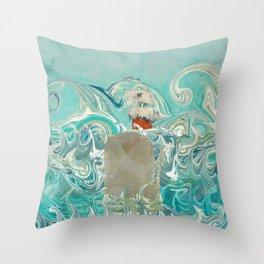 sail the seven seas Throw Pillow