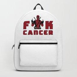 DeadpoolFuck Cancer Backpack