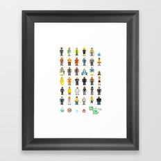 Breaking Bit Framed Art Print