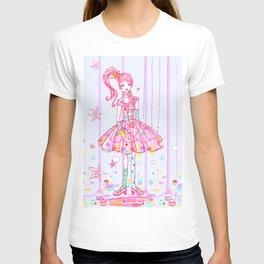 Pink Cupcake Girl T-shirt