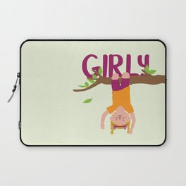 Positively Girly - tree 2 Laptop Sleeve