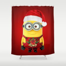 Natale Felice Shower Curtain