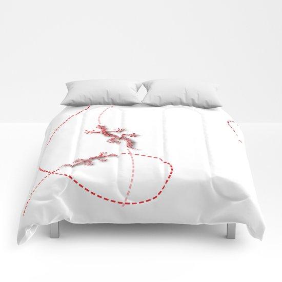 Running Lizard Comforters