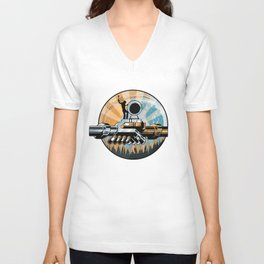 Set the Controls for the Heart of the Moon Unisex V-Neck