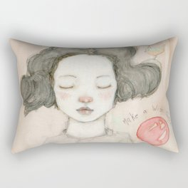 Make a Wish Susie! Rectangular Pillow