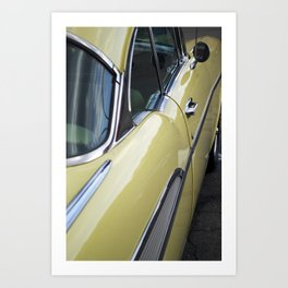 1950s Chevy Bel Air Art Print