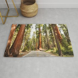sequoia tree Rug