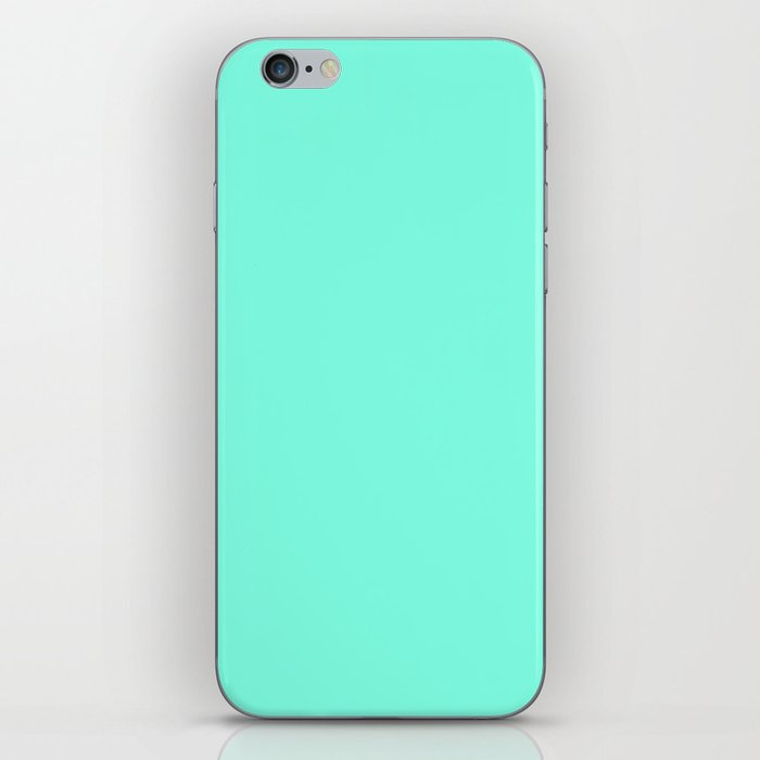 Green Mint iPhone Skin