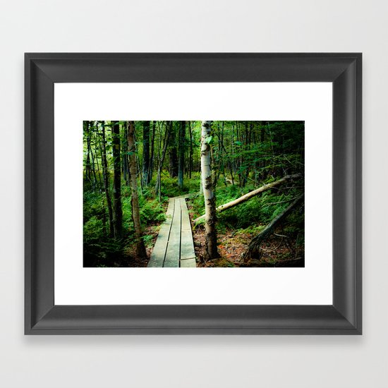 Let's Explore the World Together - Color Framed Art Print