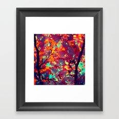 autumn tree X Framed Art Print