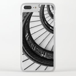 Rookery Stairs Clear iPhone Case