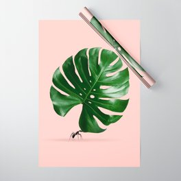 MONSTERA ANT Wrapping Paper