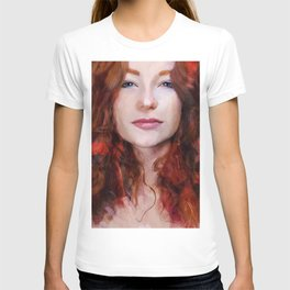 The Woman With The Red Hair T-shirt