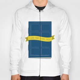 Stupid Face - Doctor Who Hoody