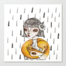 Foxie Canvas Print