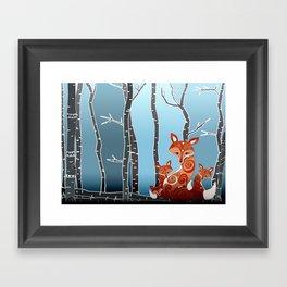 FoX Framed Art Print