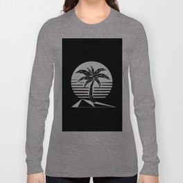 New Retro Palm Long Sleeve T-shirt