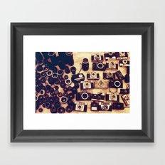 I love analogue photography Framed Art Print
