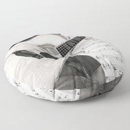 A Few Chords Floor Pillow