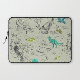 Adventure Toile  Laptop Sleeve