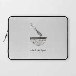 Whip It Good, Music Quote Laptop Sleeve