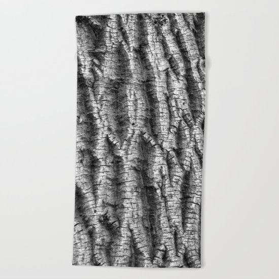 tree pattern Beach Towel