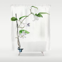 Winter Beauty Shower Curtain
