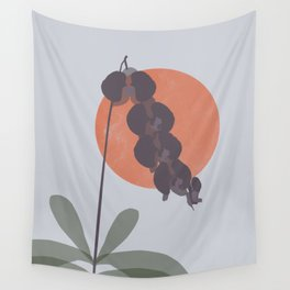Purple Orchid Dreams Wall Tapestry